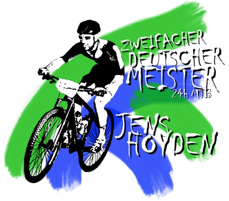 Jens Hoyden. Mountain Bike.